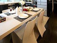 奢華復式玄關客廳餐廳裝修效果圖