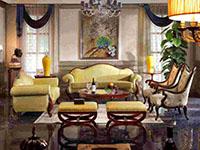 歐式復古風格家具家居裝修效果圖