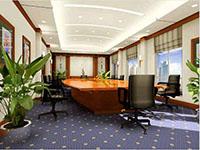 现代会议室装修设计图