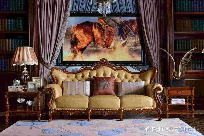 欧式古典家具家居公寓设计装修效果图