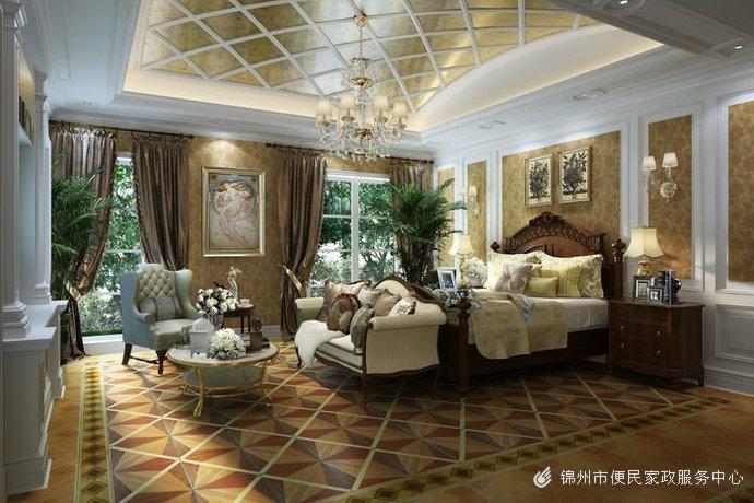 现代豪华大居室别墅装修效果图